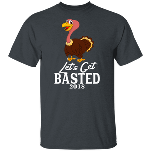 Funny Lets Get Basted 2019 Thanksgiving T-shirt - FrankyTee