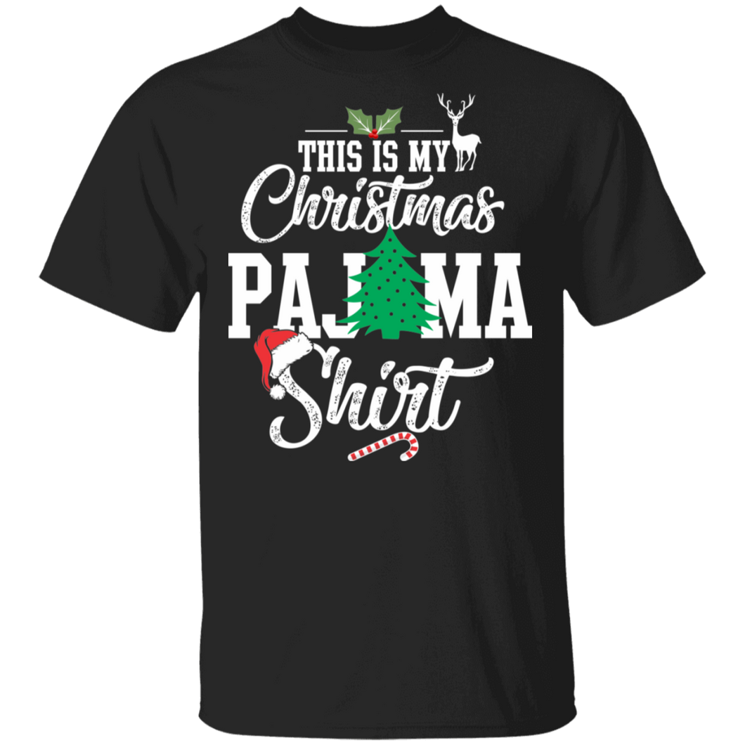 This Is My Christmas Pajama Shirt Funny Christmas - FrankyTee