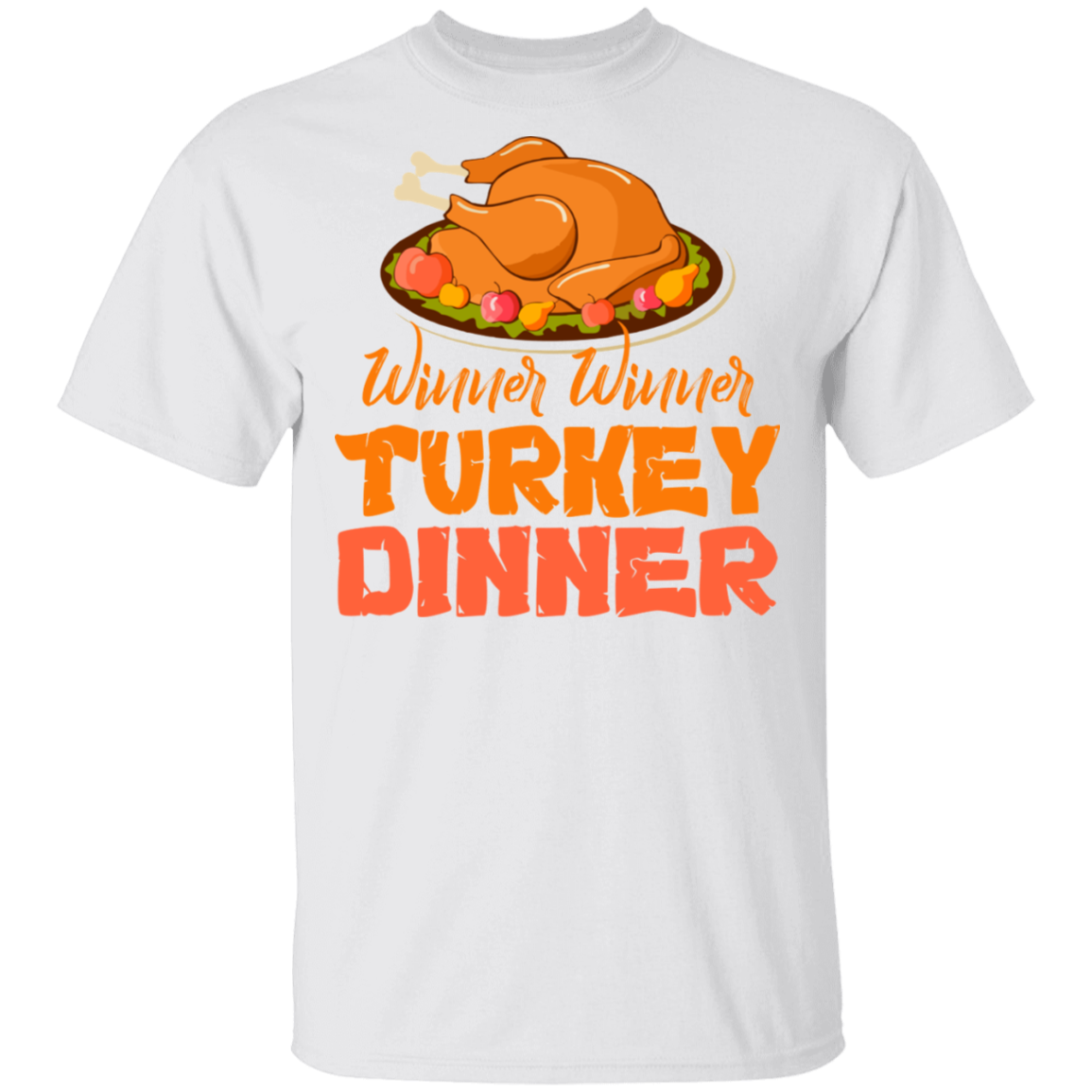Thanksgiving Winner Turkey Dinner Funny Christmas T-shirt