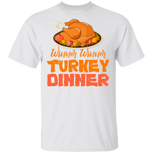 Thanksgiving Winner Turkey Dinner Funny Christmas T-shirt - FrankyTee