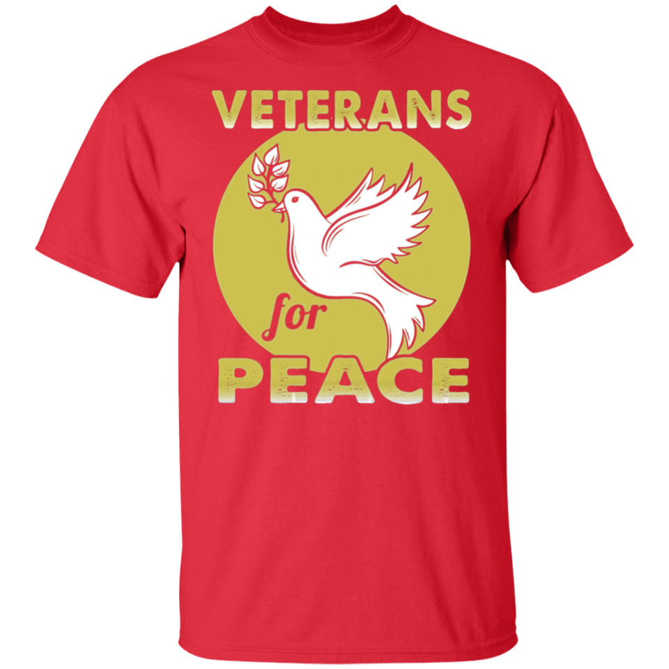 Veterans For Peace American Soldiers Freedom Funny T-shirt - FrankyTee