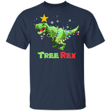 Dinosaur Christmas Shirt Tree Rex Men Pajamas Gift - FrankyTee