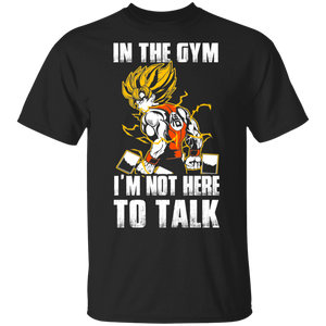Dragon Ball Z Shirts Men's Goku's Gym Train Insaiyan DBZ Workout Shirt - FrankyTee
