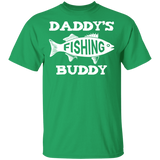 Cute Fishing Buddy Shirt Dad and Son Fathers Day Gift Boys - FrankyTee