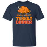 Funny Thanksgiving Day Shirt Winner Winner Turkey Dinner - FrankyTee