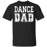 Distressed Dance Dad Ballet T-Shirt Great Gift for Men - FrankyTee