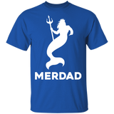 Awesome Merdad Shirt for Fathers of a Mermaids - FrankyTee