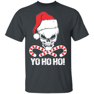 Santa Pirate Funny Christmas Shirt - FrankyTee