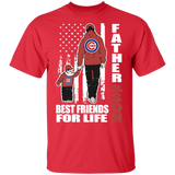 Father And Son Best Friends For Life Chicago Cubs Shirt Father's Day Shirt - FrankyTee