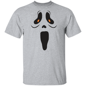 Halloween Ghost Costume Funny Ghoul Face Toddler Shirts - FrankyTee