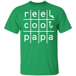 Reel Cool PaPa Fishing Fisherman Angling Father's Day Gifts - FrankyTee