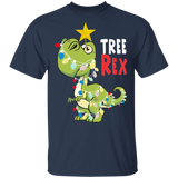 Tree Rex T-shirt Dinosaur Christmas Shirt Gift Ideas - FrankyTee
