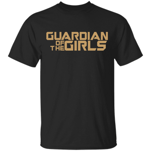 Daddy Guardian Of The Girls Fathers Day Dad T-Shirt - FrankyTee