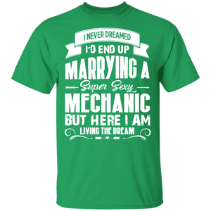 Mechanic Tshirt, I Love My Super Sexy Mechanic - FrankyTee