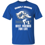 Grandpa and Grandson Best Friends For Life  Shirt - FrankyTee