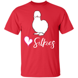 Silkie Chickens Shirt Silkies Love Silkies Chicken Shirt - FrankyTee