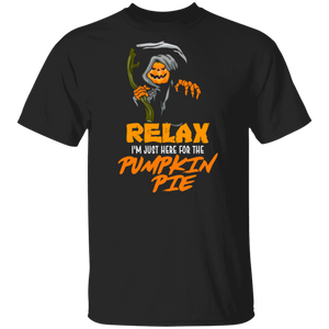 I'm Just Here For The Pumpkin Pie Tees Thanksgiving T Shirt - FrankyTee