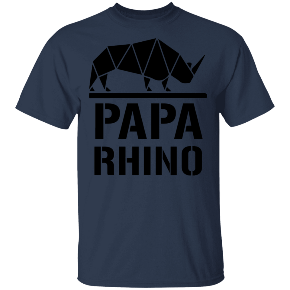 Men's Papa Rhino T-shirt Awesome Love It Shirt - FrankyTee