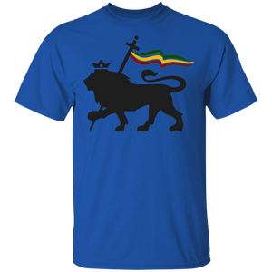 Lion of Judah Rasta Reggae Roots Clothing T Shirt Tee King - FrankyTee