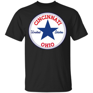 Cincinnati Ohio United States Usa T-shirt Relaxed Fit - FrankyTee