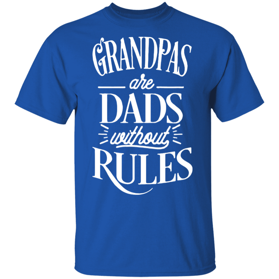 Grandpas Are Dads Without Rules shirt - Father's Day Shirt - FrankyTee