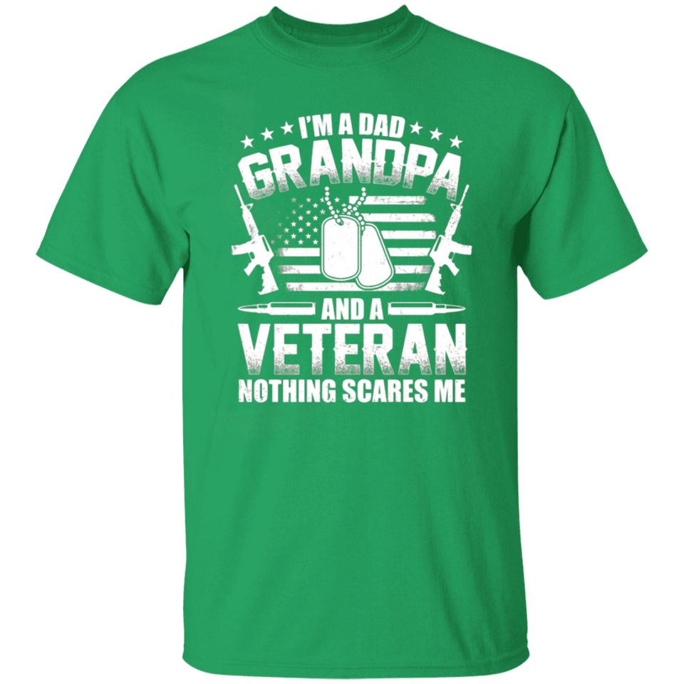 I'm A Dad Grandpa Shirt Veteran Father's Day - FrankyTee