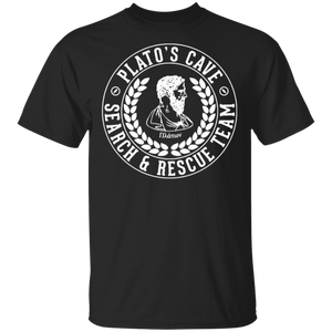 SeCrEt DeSiGn Platos Cave - Search and Rescue Team T-Shirt - FrankyTee