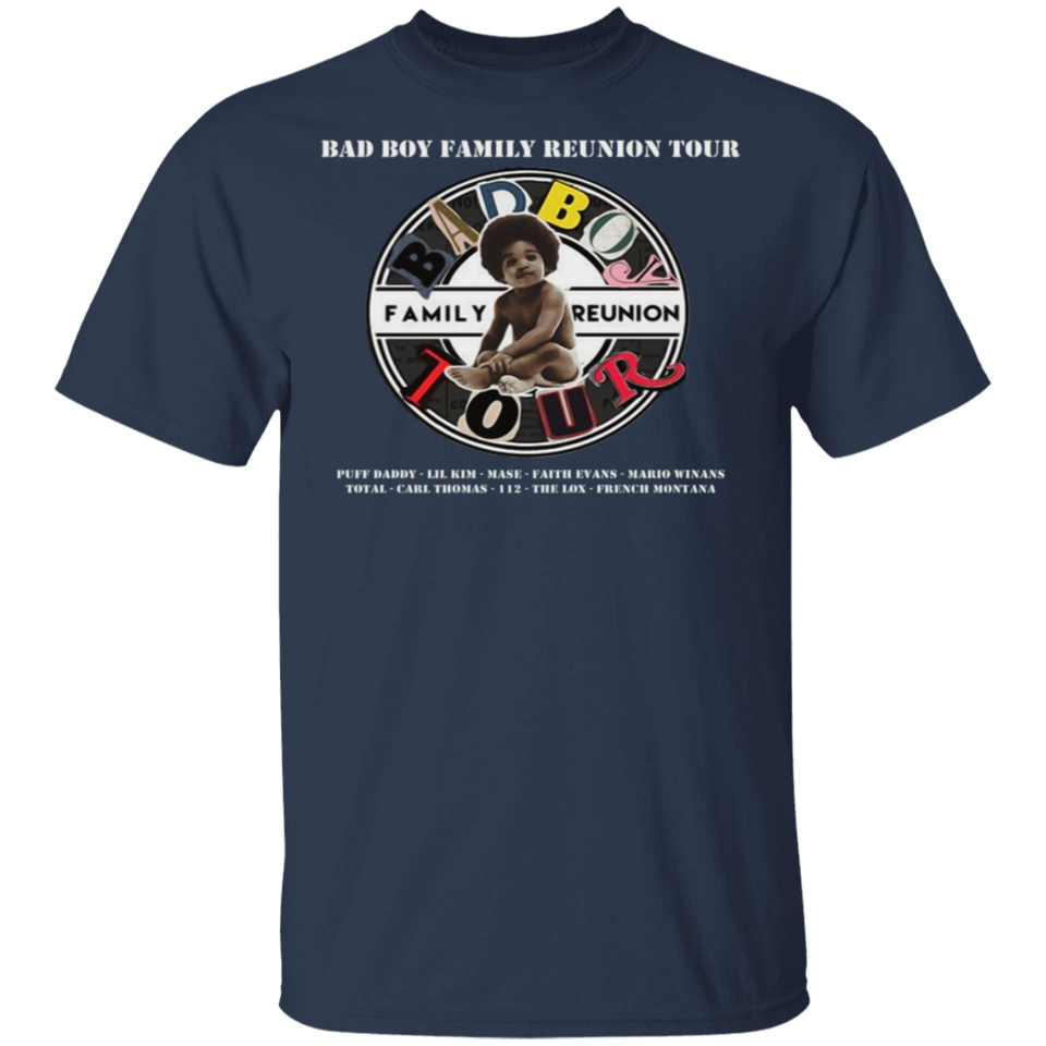Bad Boy Family Reunion Tour 2019 Shirt - FrankyTee