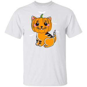 Black Cat Pumpkin Halloween Shirts - FrankyTee