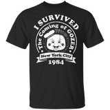 I Survived The Coming Of Gozer Shirt - FrankyTee
