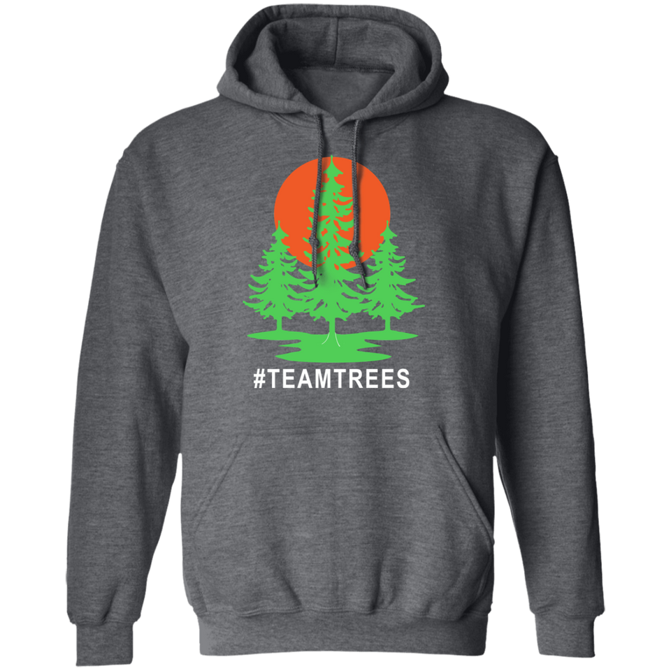 Team Trees Hoodies Sweatshirt - FrankyTee