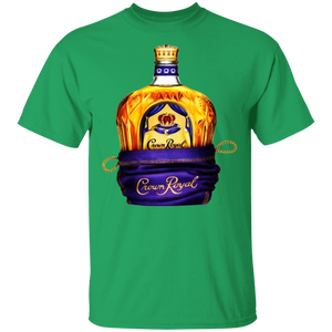 Crown Royal in a Bag Tee Shirt - FrankyTee