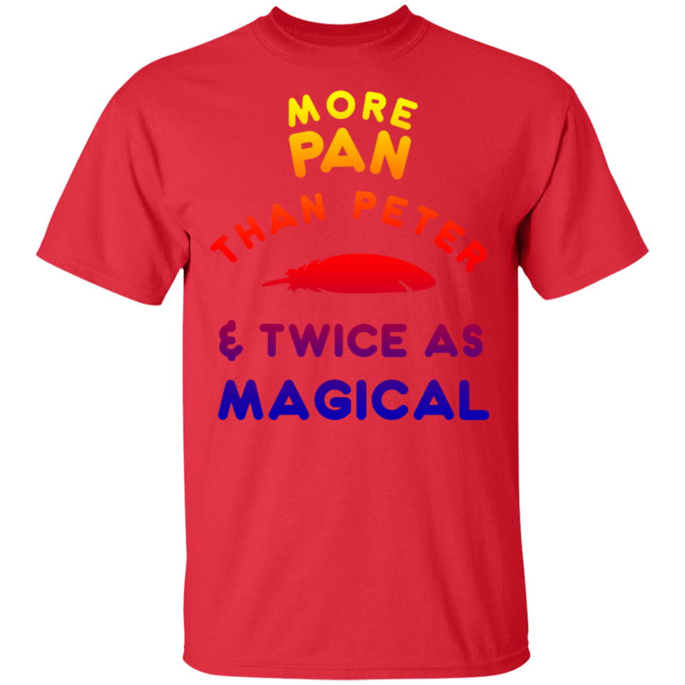 Funny More Pan than Peter Shirt LGBTQ Pansexual Pride Gift - FrankyTee