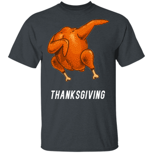 Dabbing Shirt Turkey Dab Thanksgiving T-shirt - FrankyTee