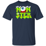 Mom Monster Funny Halloween Mom Shirts - FrankyTee