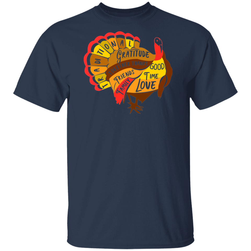 Happy Thanksgiving Day Funny Turkey Shirts - FrankyTee