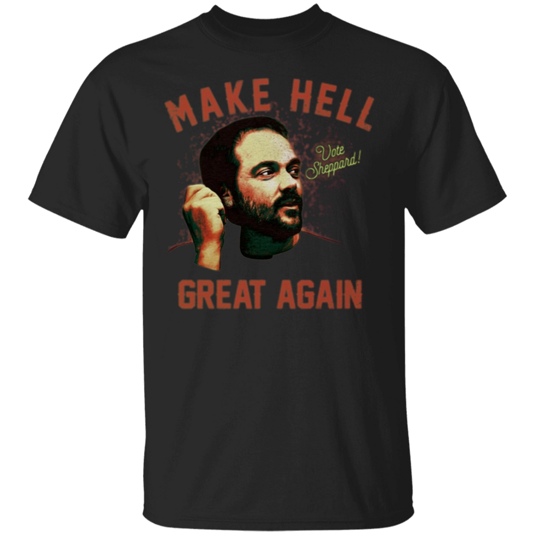 Mark Sheppard Make Hell Great Again Shirt - FrankyTee