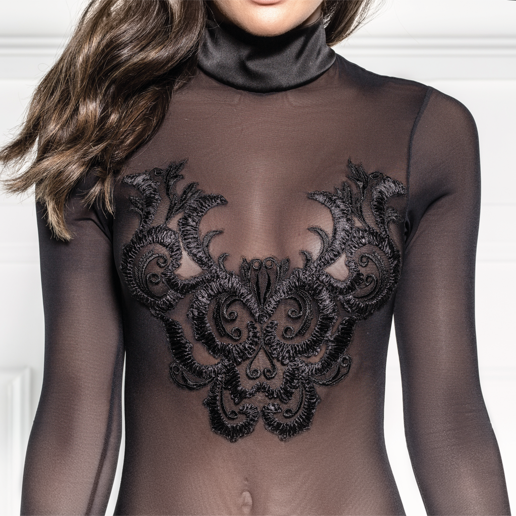 Emmeleia Long Sleeve Bodysuit