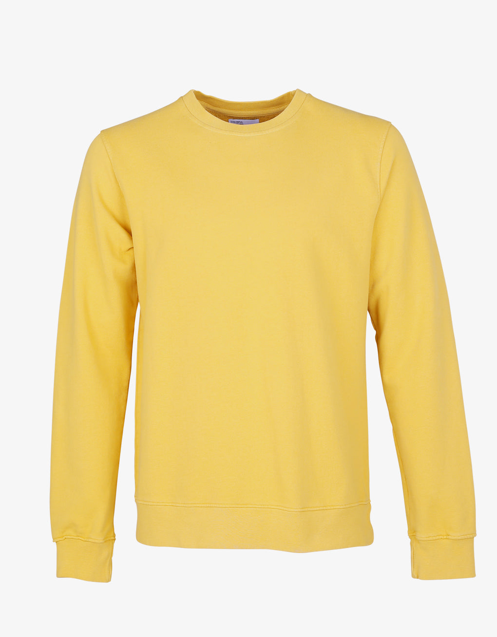 Colorful Standard Classic Organic Crew Crewneck Lemon Yellow