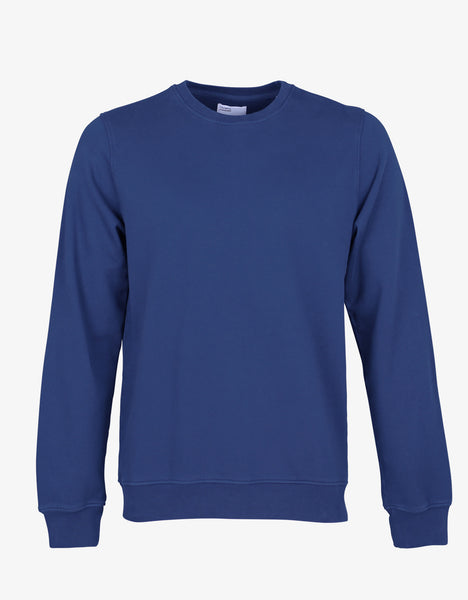 Colorful Standard Classic Organic Crew Crewneck Royal Blue