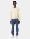Colorful Standard Classic Organic Crew Crewneck Soft Yellow