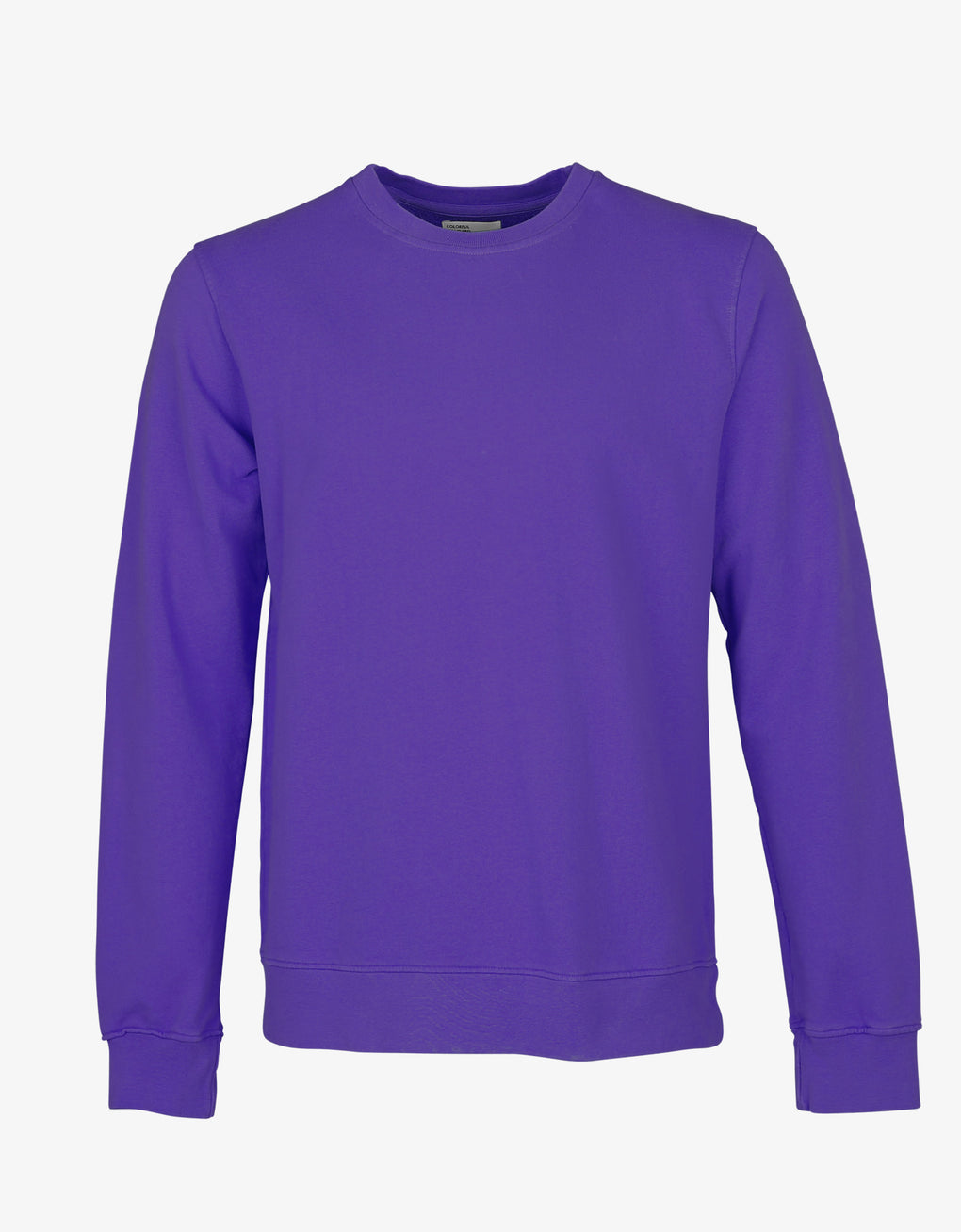 Colorful Standard Classic Organic Crew Crewneck Ultra Violet