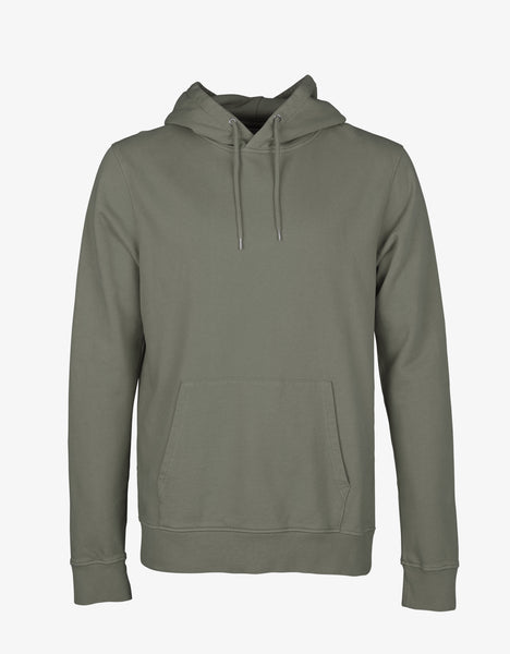 Colorful Standard Classic Organic Hood Hoodie Dusty Olive