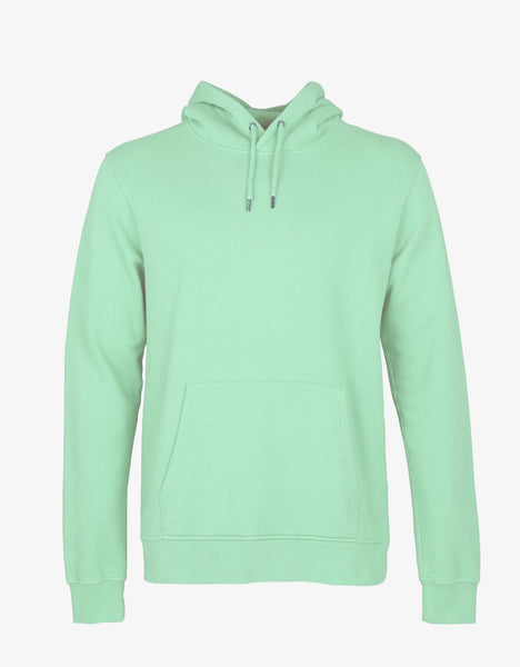 Colorful Standard Classic Organic Hood Hoodie Faded Mint
