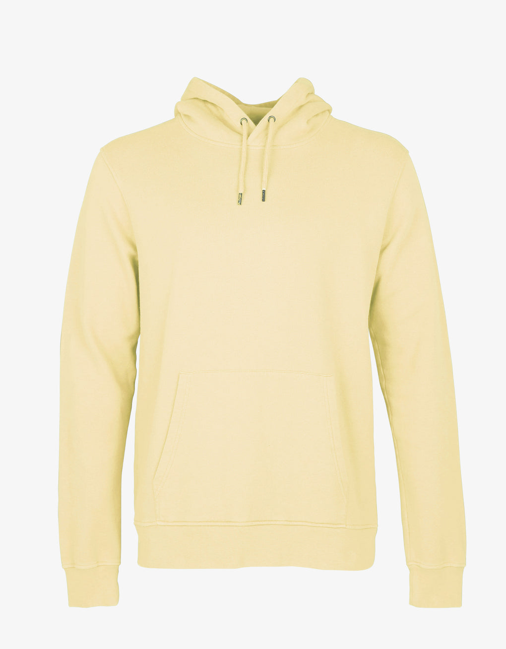 Colorful Standard Classic Organic Hood Hoodie Soft Yellow