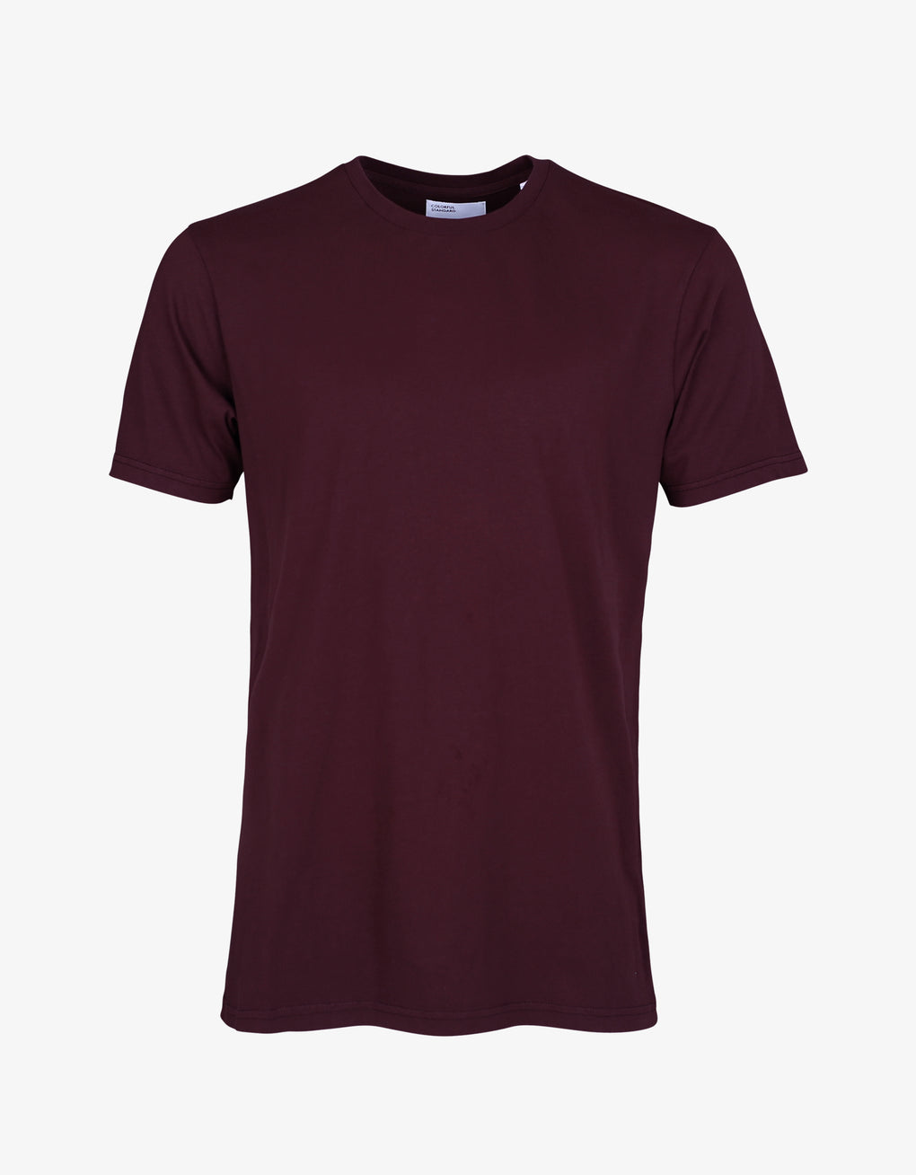 Colorful Standard Classic Organic Tee T-shirt Oxblood Red