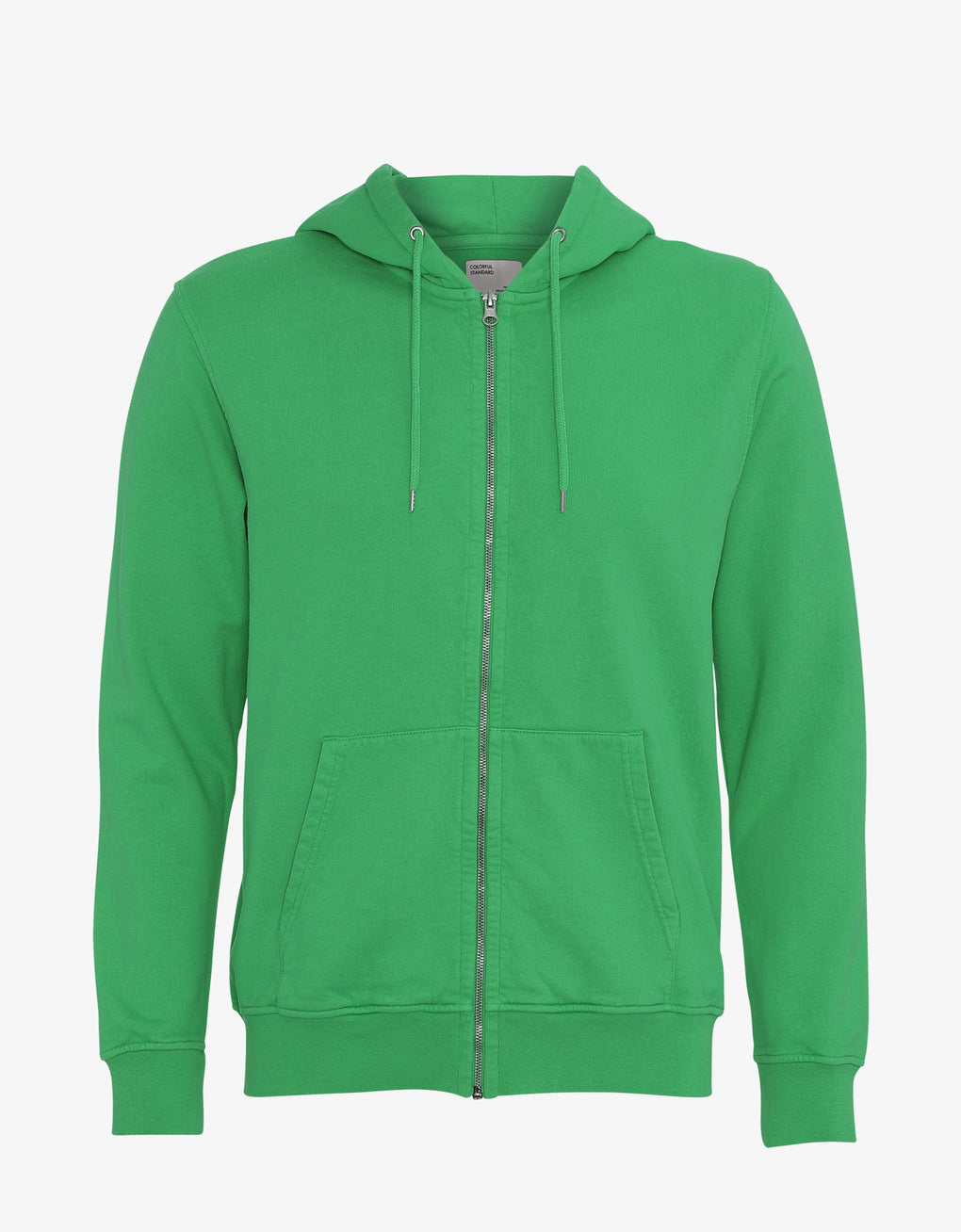 Colorful Standard Classic Organic Zip Hood Zip Hoodie Kelly Green