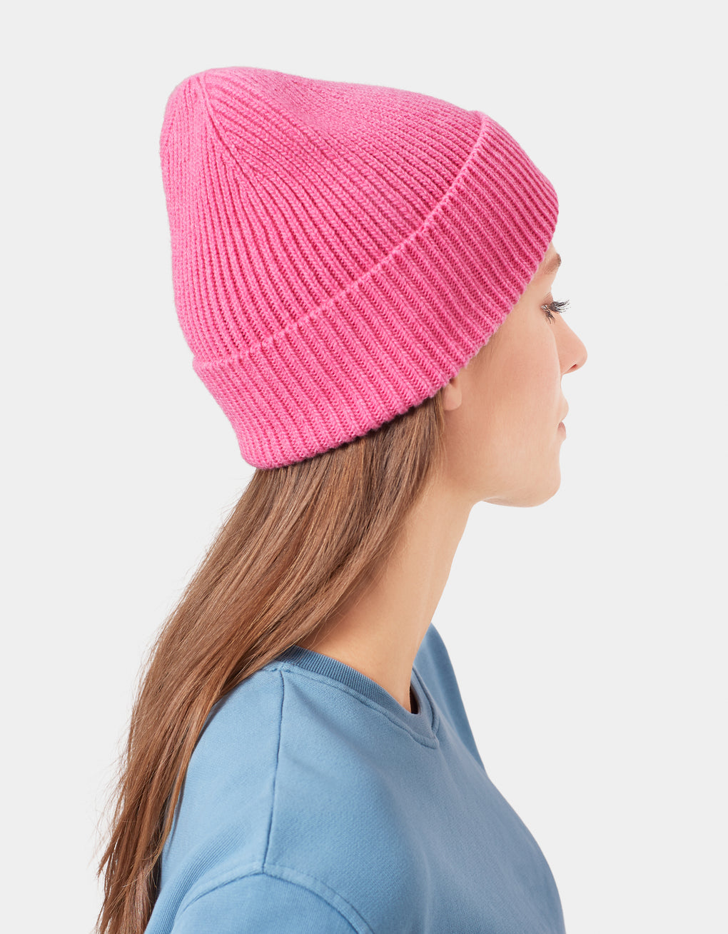 Colorful Standard Merino Wool Beanie Beanie Faded Pink