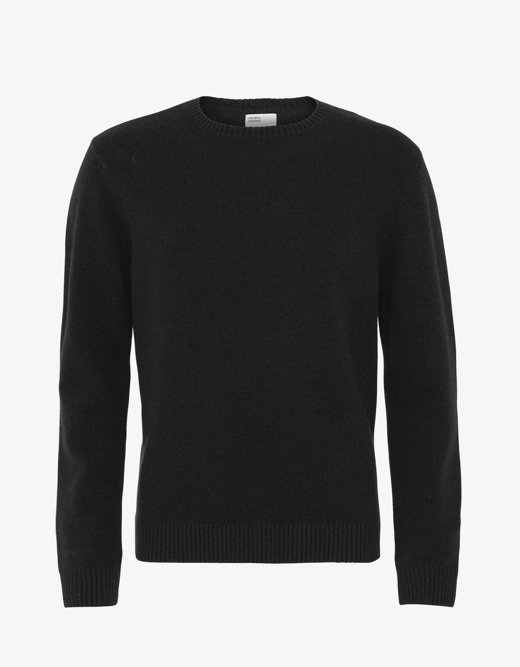 Colorful Standard Merino Wool Crew Merino Crewneck Deep Black