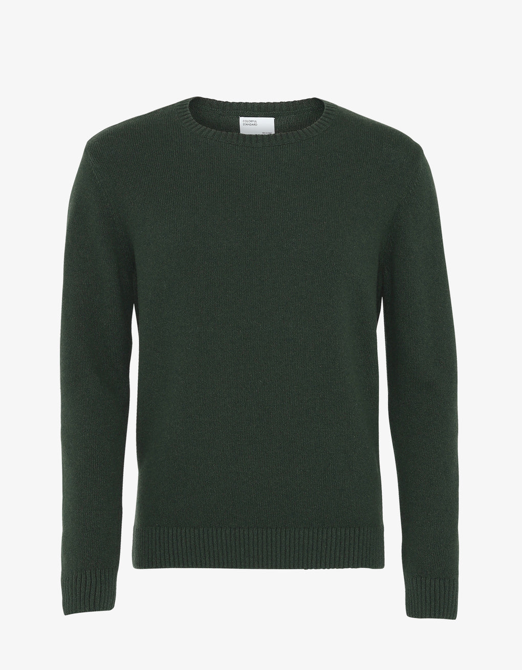 Colorful Standard Merino Wool Crew Merino Crewneck Hunter Green